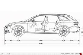 audi a4 length in detail the audi a4 avant