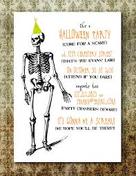 Halloween Happy Birthday Images by Perfect Kids Halloween Birthday Invitations According