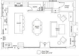 kitchen floor plan ideas kitchen and living room floor plans conceptstructuresllc