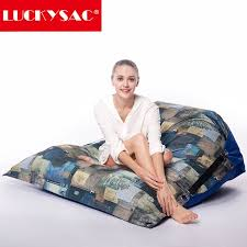 colorful outdoor waterproof bean bag float beanbag chair double