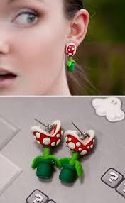 strange earrings and creative earrings