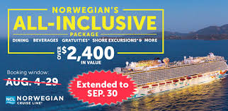 all inclusive packages on cruise line
