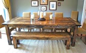 farmhouse table with bench and chairs farmhouse table and bench farmhouse dining table bench and chairs
