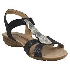 ladies remonte t bar casual sandals r3638 ebay