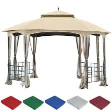 gazebo covers gazebo tops canopy replacement covers 10 10 home depot tent 10 x