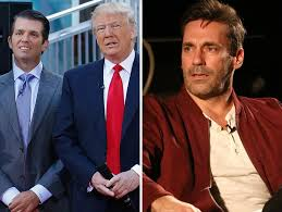 jon hamm donald trump and donald trump jr are fighting over