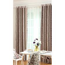 striped bedroom curtains coffee striped jacquard insulated poly cotton blend bedroom curtains