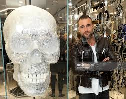 philipp plein hosts a cocktail party to celebrate the opening of