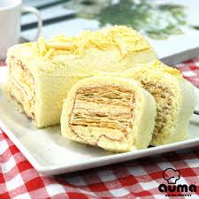 la cuisine de ma m鑽e 奧瑪烘焙 檸檬千層蛋糕 2條 漢神百貨 yahoo奇摩超級商城