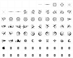 hoefler text ornaments fm for printers only regular