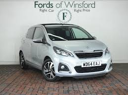 peugeot 108 used cars for sale used cars manchester cheshire u0026 the north west fords of winsford