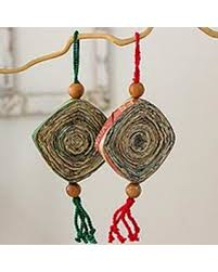 don t miss this deal recycled paper ornaments