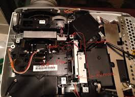 fixed a broken epson powerlite 1080 tw1000 myself avs forum
