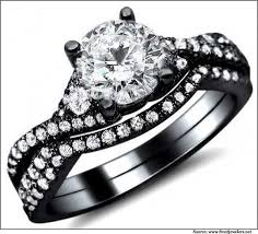 black gold wedding sets best 25 black gold wedding rings ideas on black