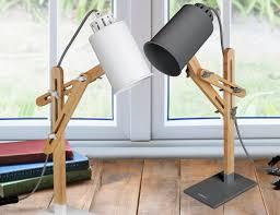 Light Wood Desk Tomons Led Multi Angle Wood Desk Lamp Gadget Flow