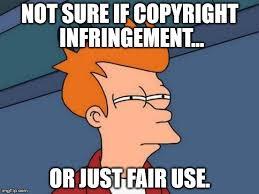 Meme Copyright - futurama fry meme imgflip