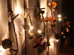battery operated warm white led string lights with acorn