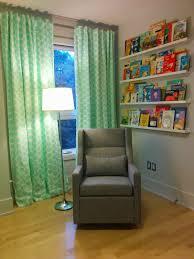Lemon Nursery Curtains by Children U0027s Book Rail For Nursery U2013 Lemon And Mint