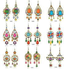 styles of earrings big earrings bohemian style costume jewelry 20pairs lot