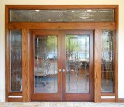 home design interior french doors opaque glass tray ceiling