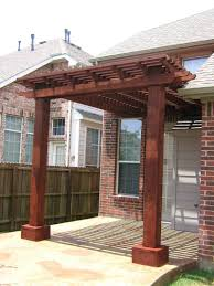 Concrete Pergola Designs by Pergola Front Porch Stunning Construction Design White Stained