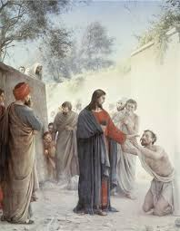 Christ Healing The Blind The Miracle Of Jesus Christ Healing The Blind Stock Photos Page