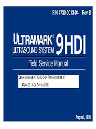 atl ultramark 9hdi service manual 1 video 2 d computer graphics