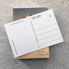 writing paper with space for picture space time and beyond into the light ultra limited edition of the 50 first copies including a high quality print postcard signed by the composer himself all orders will be shipped with