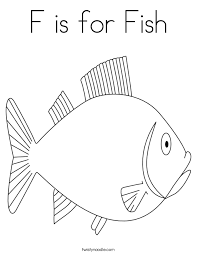fish coloring pages print f is for fish coloring page twisty noodle