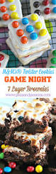 easy m u0026m u0027s twister cookies m u0026m u0027s seven layer brownies for game