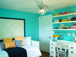 blue green palette with pink gray and yellow for girls room