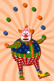 clowns juggling balls clown juggling balls royalty free cliparts vectors and stock