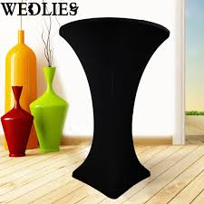 How To Make A Fitted Tablecloth For A Rectangular Table Online Buy Wholesale Cocktail Table Cloth From China Cocktail