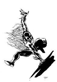 spider man 2099 inks parisalleyne deviantart