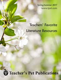 novel units u0026 lesson plans teacher u0027s pet publications