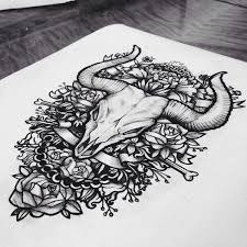 10 best tattoo sketches images on pinterest a tattoo dog skull