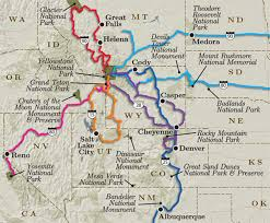 Mesa Verde Map Map Of Utah With Cities And National Parks