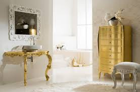 Gold Bathroom Fixtures by 4 Warm Metal Fixture Ideas To Brighten Up Your Bathroom