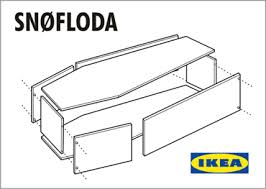 how to build a coffin ikea to launch ready to assemble casket flat pack furniture