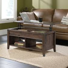 the brick coffee tables carson forge lift top coffee table 420421 sauder