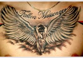 black fallen angel tattoo only tattoos