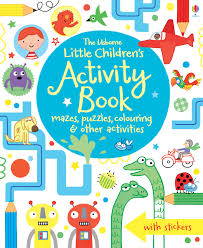 children activities the usborne little children u0027s activity book mazes puzzles and