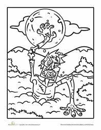 18 zombie art u0026 color pages images zombie art