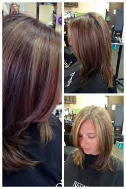 short hair with lots of layers hair style and color for woman