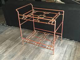 diy copper pipe bar cart album on imgur