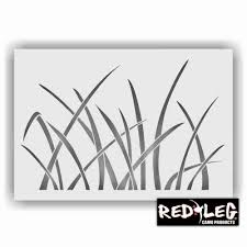 redleg camo large 12x9 grass camouflage stencil re usable duck