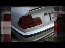 2004 bmw 330i tail lights precut taillight tint 1999 2005 bmw 325i rvinyl smoked tail lights