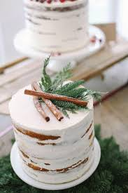 Winter Wedding Cakes Rustic Winter Wedding Cake U2013 Candy Cake Weddings
