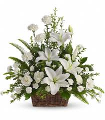 Flowers For Funeral Heavenly Funeral Tribute Flowers For Funeral Elegant Flowers