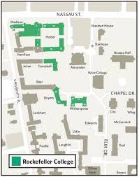 floor plans princeton what s where rockefeller college